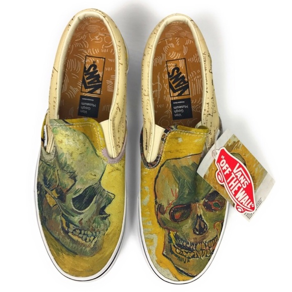 Vans Shoes Vans Slipon Vincent Van Gogh Skull Poshmark